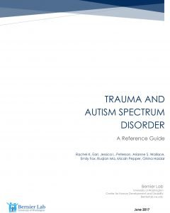 trauma and autism spectrum disorder