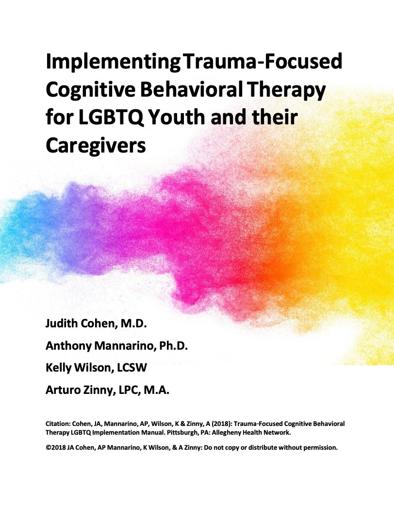TF-CBT LGBTQ Implementation Manual